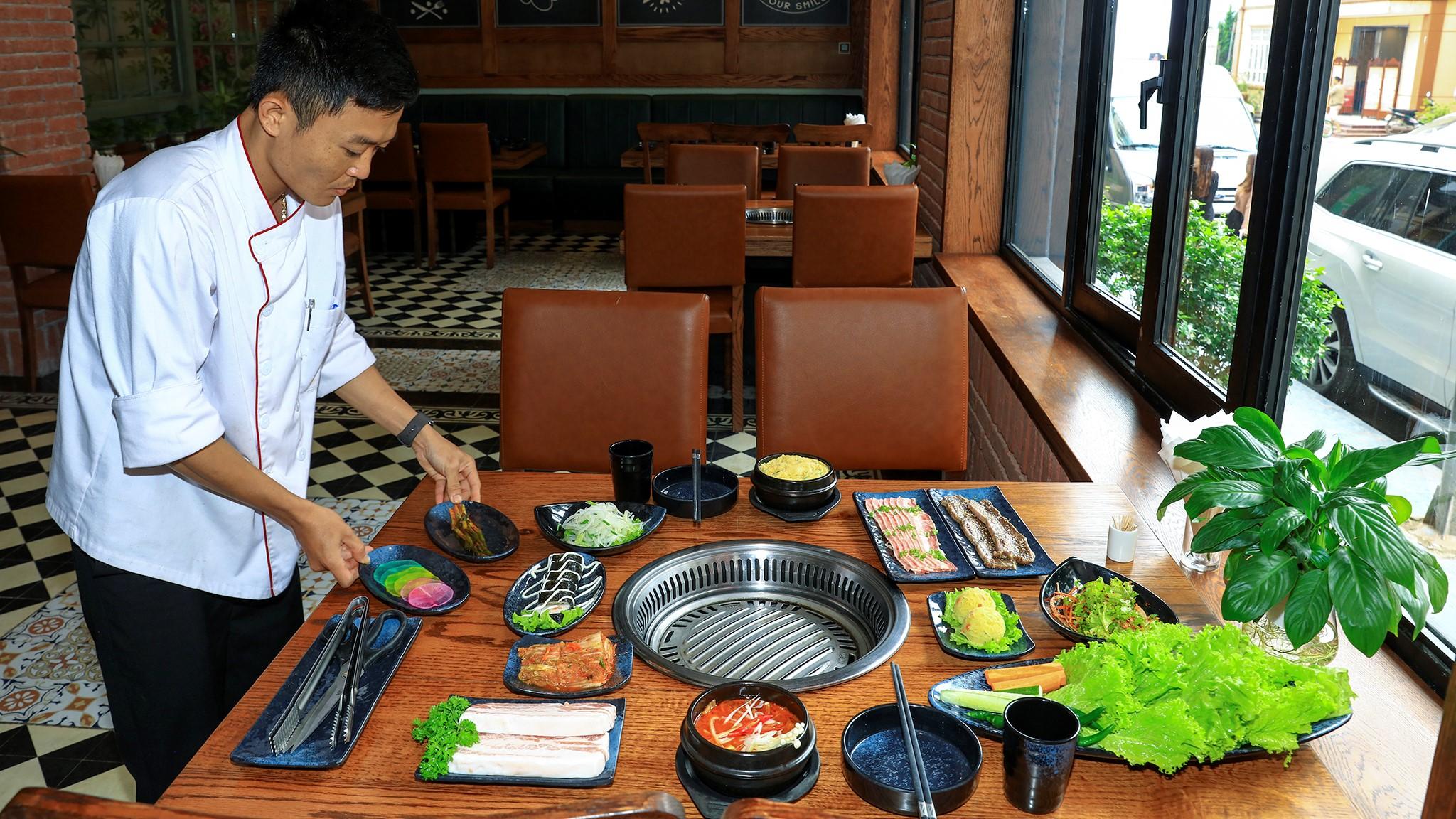 Nhà hàng Hàn Quốc
